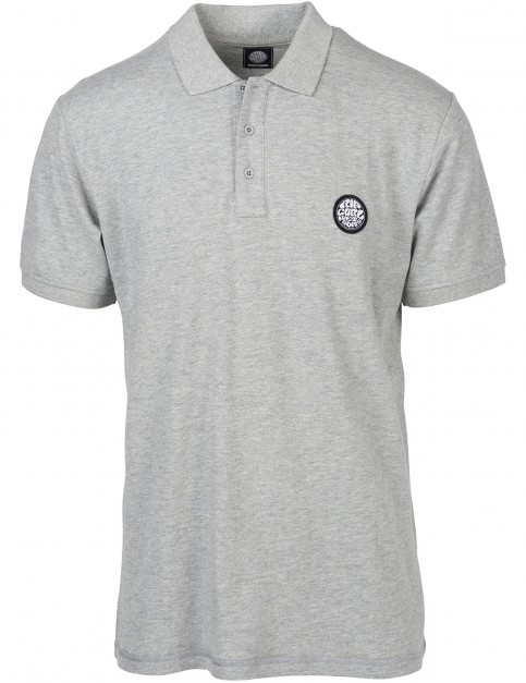 Rip Curl Original Wetty Polo Shirt in Cement Marle