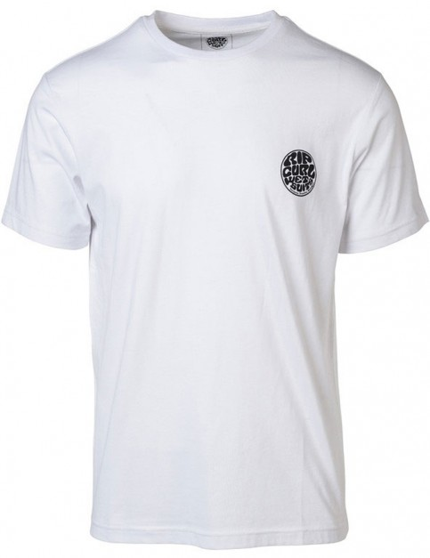 Rip Curl Original Wetty Short Sleeve T-Shirt in Optical White