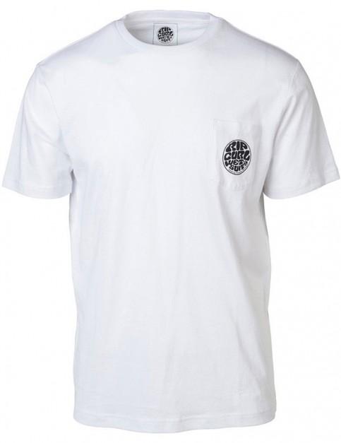 Rip Curl Original Wetty Short Sleeve T-Shirt in Optical White