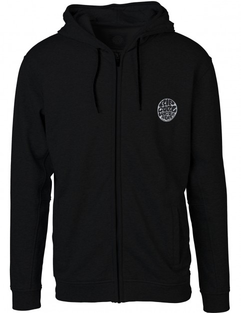 Rip Curl Original Wetty Zipped Hoody in Black