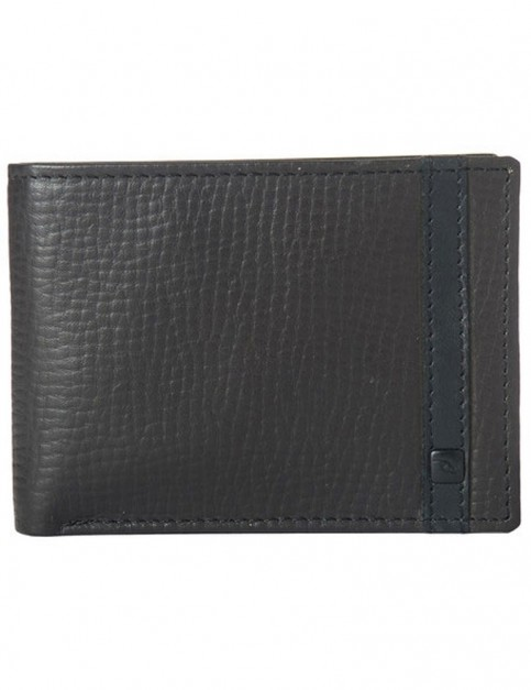 Rip Curl Overlap Clip RFID Slim Leather Wallet in Brown
