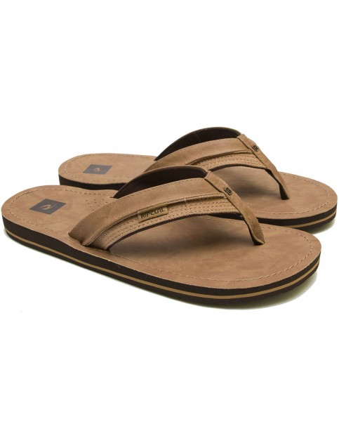 Rip Curl OX Faux Leather Sandals in Multi/Tan