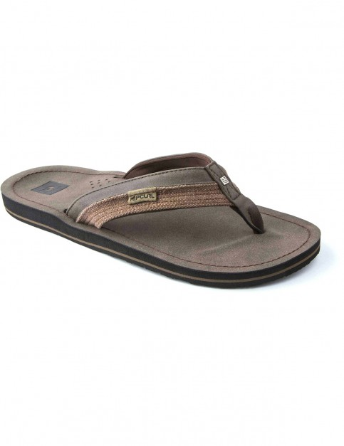 Rip Curl Ox Flip Flops in Chocolate