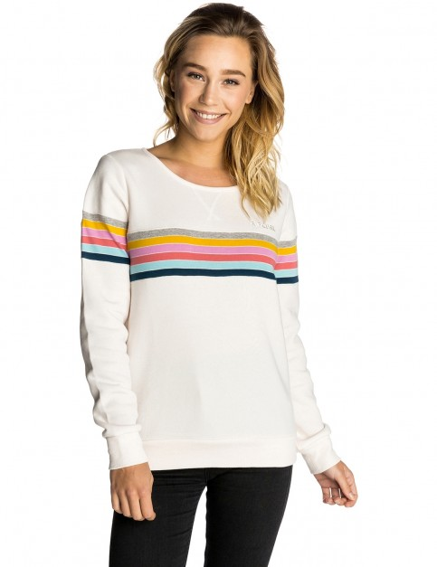 Rip Curl Paradiso Crew Sweatshirt in Sea Salt
