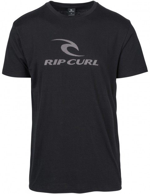 Rip Curl Peak Icon Short Sleeve T-Shirt in Black