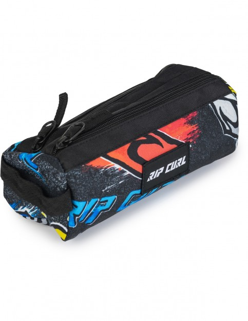 Rip Curl Brush Pencil Case in Black