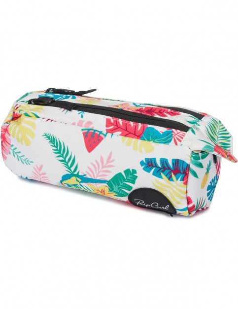 Rip Curl Flora 2P Pencil Case in White