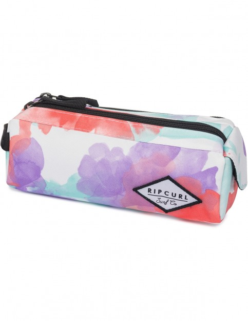 Rip Curl Watercamo 2P Pencil Case in White