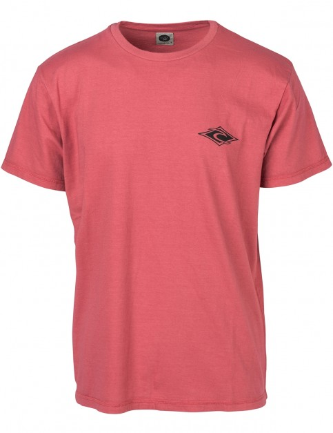 Rip Curl Pin Up Short Sleeve T-Shirt in Slate Rose