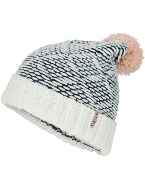 Rip Curl Pinchi Beanie in Off White