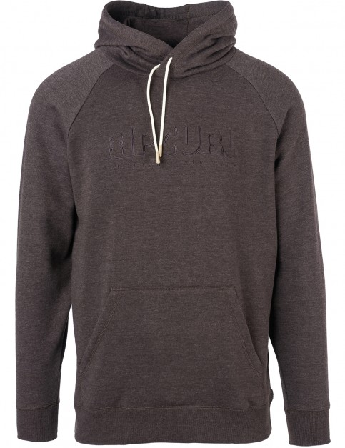 Rip Curl Pipe Dream Pullover Hoody in Mole Marle