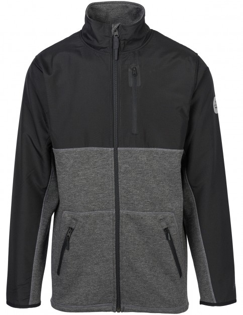 Rip Curl Polarized Anti-Series Full Zip Fleece in Dark Marle