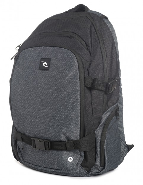 Black Rip Curl Posse Ripstop Heather Backpack