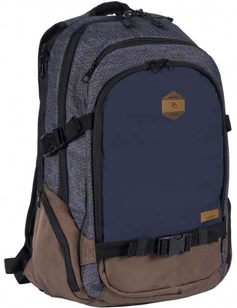 Rip Curl Posse Stacka Technical Backpack in Navy