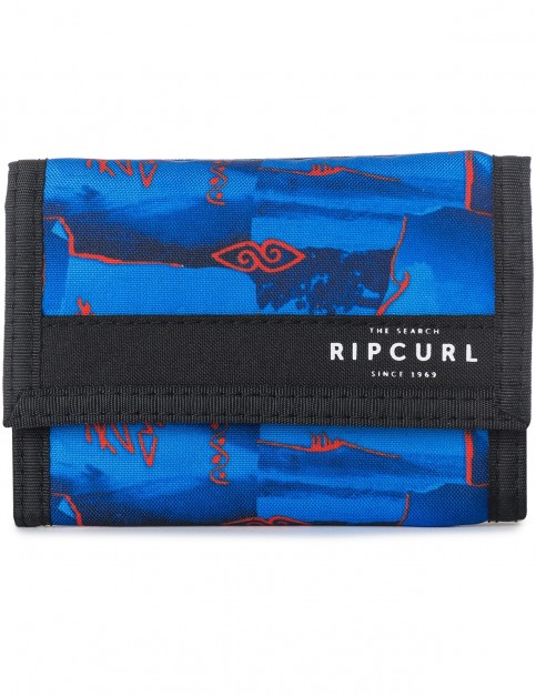 Rip Curl Poster Surf Polyester Wallet in Blue