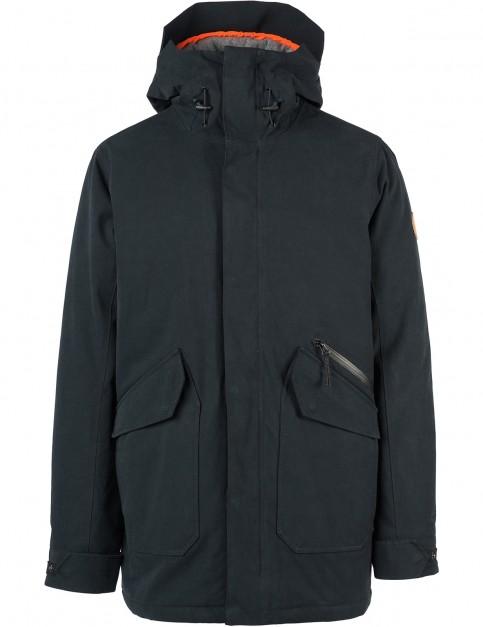 Rip Curl Premium Anti-Series Parka Jacket in Black
