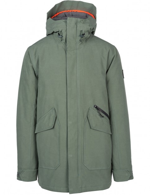 Rip Curl Premium Anti-Series Parka Jacket in Green