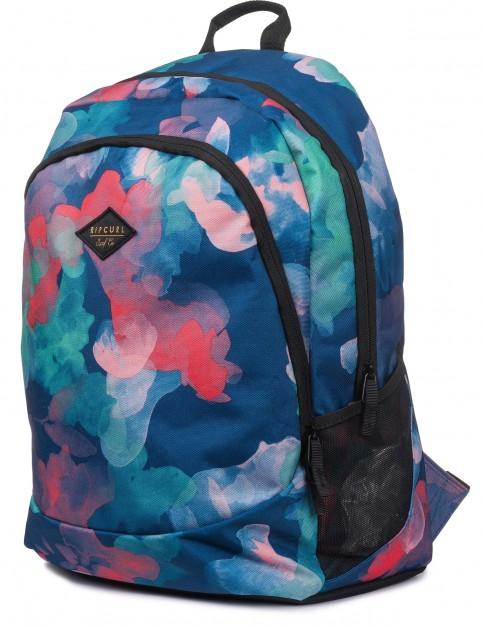 Rip Curl Proschool Watercamo Backpack in Blue
