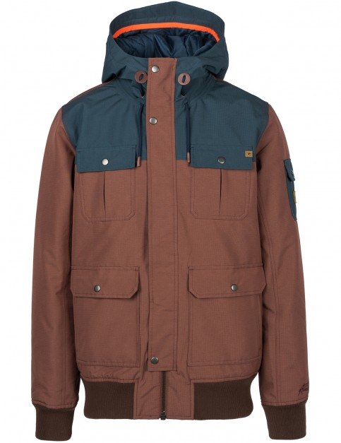 Rip Curl Pumper Anti-Series Jacket in Brown