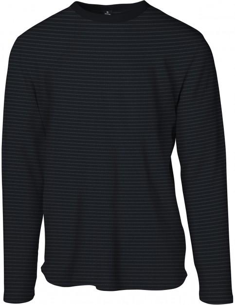Rip Curl Pyjam Long Sleeve T-Shirt in Black