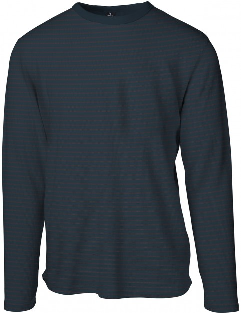 Rip Curl Pyjam Long Sleeve T-Shirt in Midnight Navy