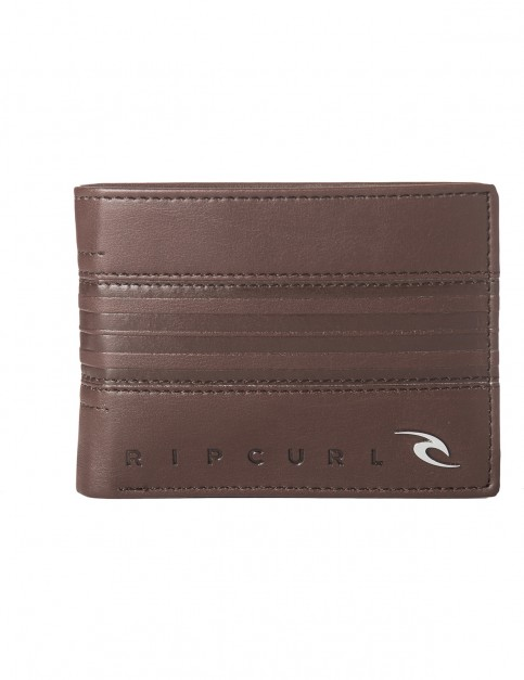 Rip Curl Rapture Boss PU All Day Faux Leather Wallet in Brown