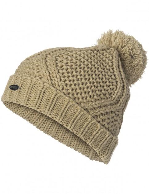 Rip Curl Raya Beanie Bobble Hat in Twill