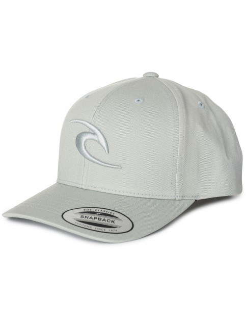 Rip Curl RC Iconic Snapback Cap in Limestone