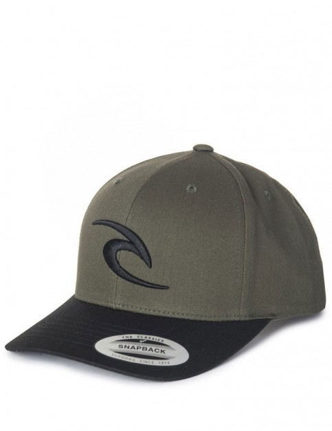 Rip Curl RC Iconic Snapback Cap in Sea Turtle