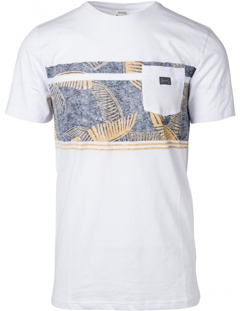 Rip Curl Retro Block Short Sleeve T-Shirt in White