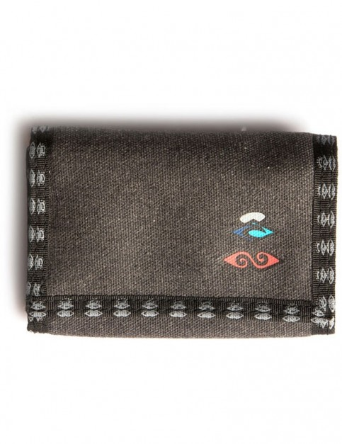 Rip Curl Retro Surf Polyester Wallet in Black