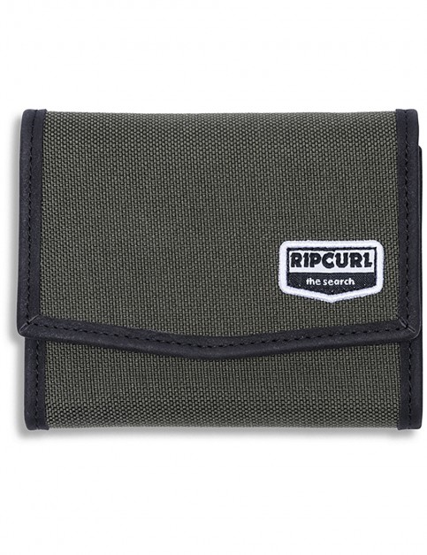 Rip Curl RFID Classic Surf Polyester Wallet in Forest Green