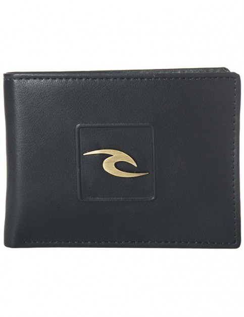 Rip Curl Rider Pu All Day Faux Leather Wallet in Black