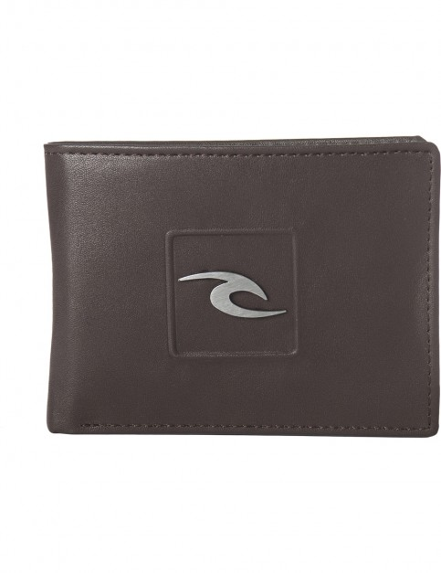 Rip Curl Rider PU All Day Faux Leather Wallet in Brown