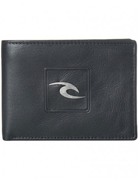 Rip Curl Rider RFID All Day Leather Wallet in Black