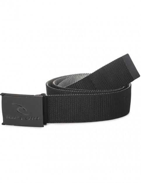 Rip Curl Ripping Revo Webbing Belt in Black