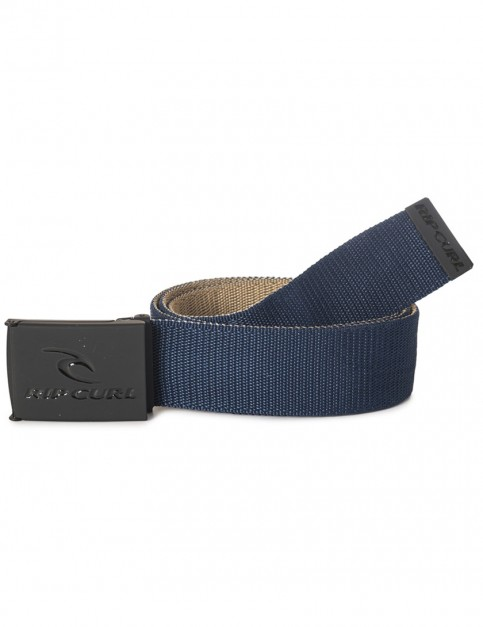 Rip Curl Ripping Revo Webbing Belt in Tan