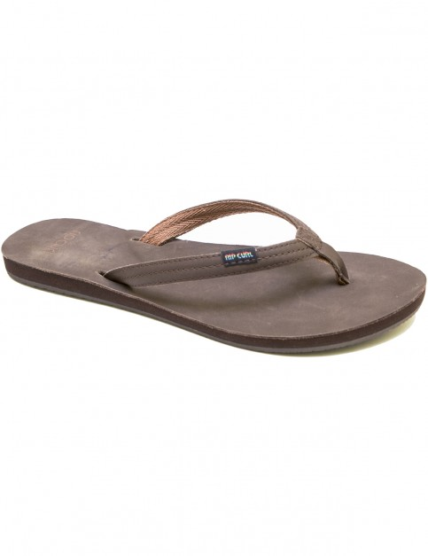 Rip Curl Riviera Flip Flops in Dark Brown