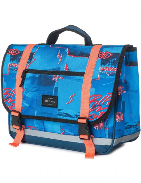Rip Curl School Satchel Poster Vib Messenger Bag in Blue