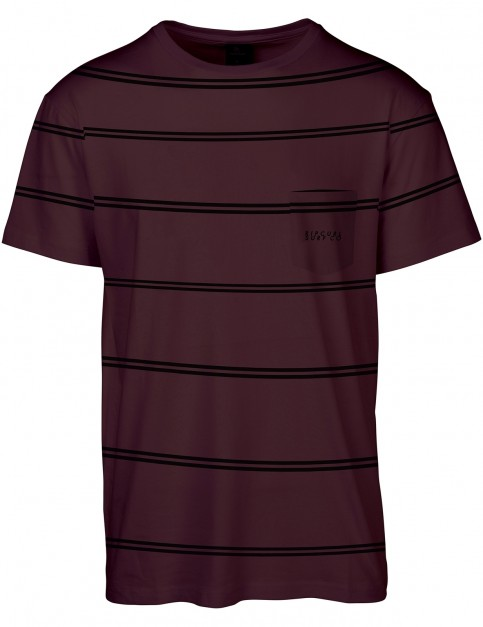 Rip Curl Scuffing Short Sleeve T-Shirt in Red
