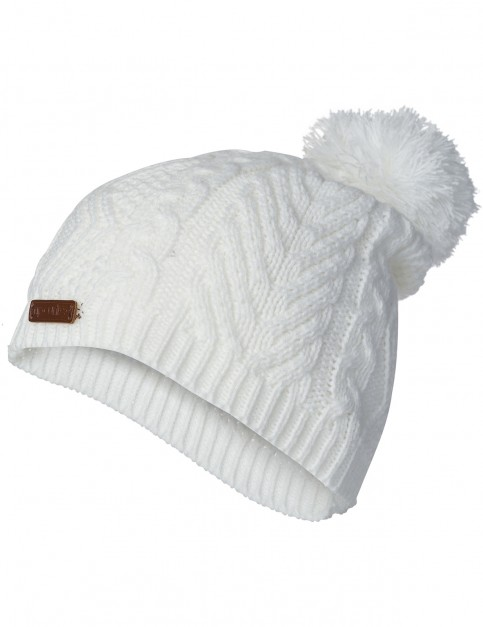 Rip Curl Shelly Beanie Bobble Hat in Sea Salt
