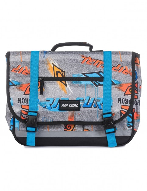 Rip Curl Sml Satchel Brush Stokes Messenger Bag in Blue