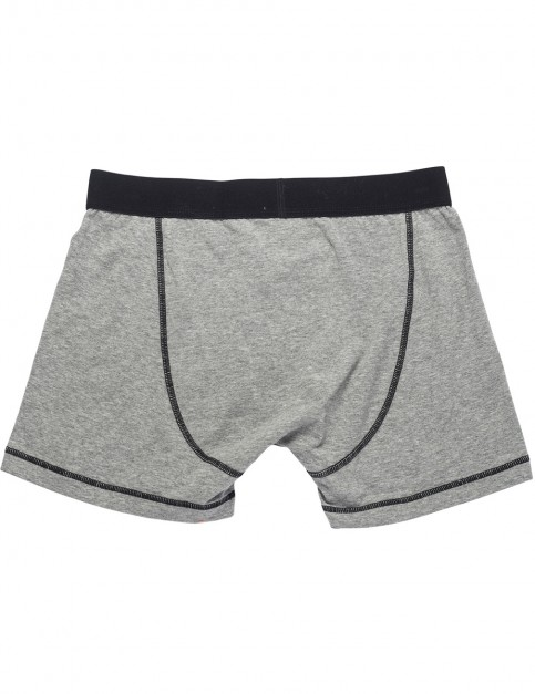 Rip Curl Solid Boxer Short Underwear in Cement Marl