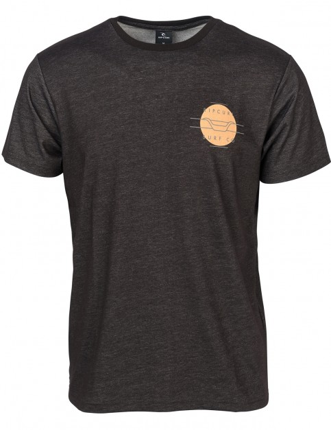 Rip Curl Spot Legend Short Sleeve T-Shirt in Black