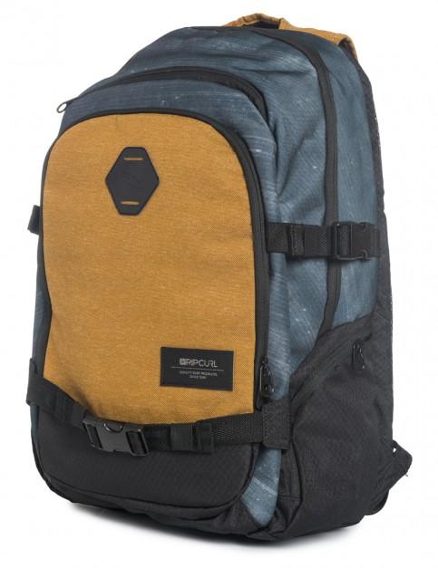 Brown Rip Curl Stacker Posse Backpack