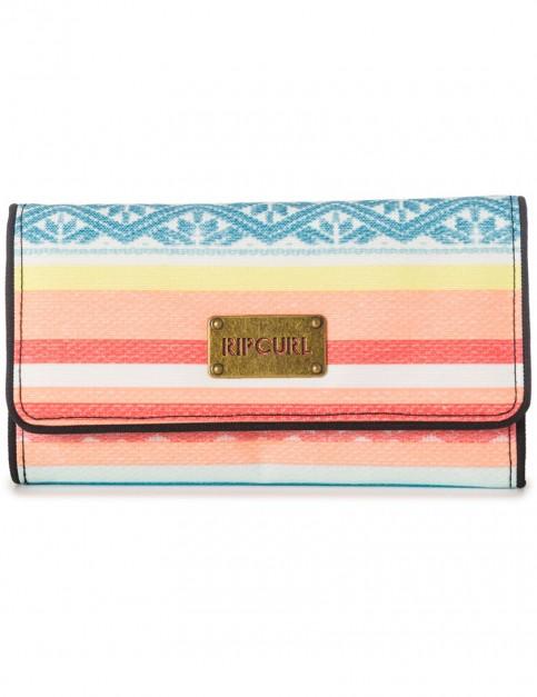 Rip Curl Sun Gypsy Faux Leather Wallet in Multico