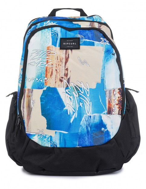 Rip Curl Tri School Poster Vibes Backpack in Multico