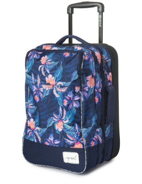Rip Curl Tropic Tribe Cabin Wheeled Luggage in Peacoat