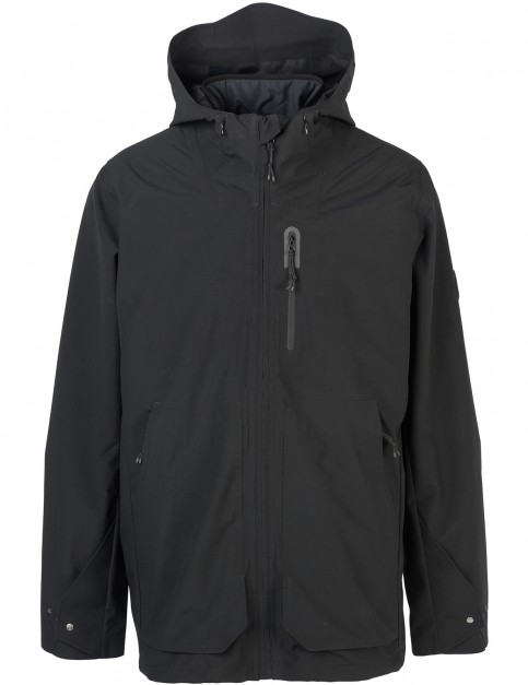 Rip Curl Ultimate Anti-Series Parka Jacket in Black