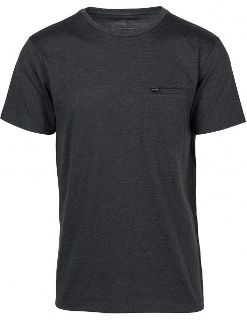 Rip Curl Undercurrent Vaper Cool Short Sleeve T-Shirt in Black